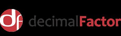 Decimal Factor logo