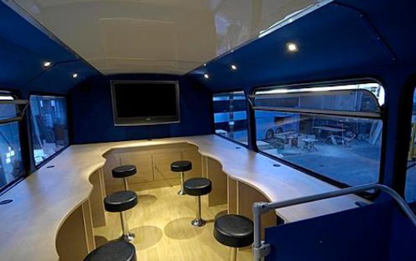 Interior desk example
