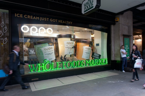 Oppo icecream whole foods window front 2