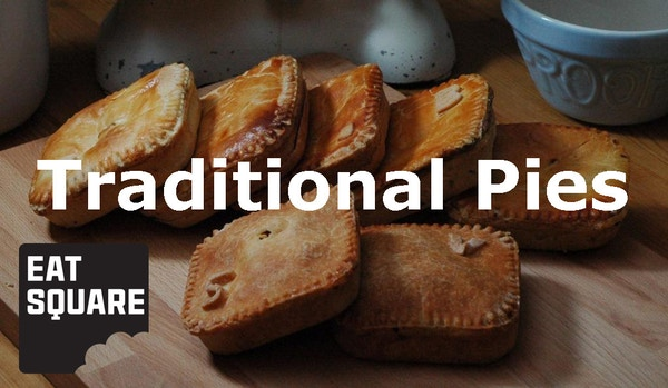 Traditional pies from eat square logo