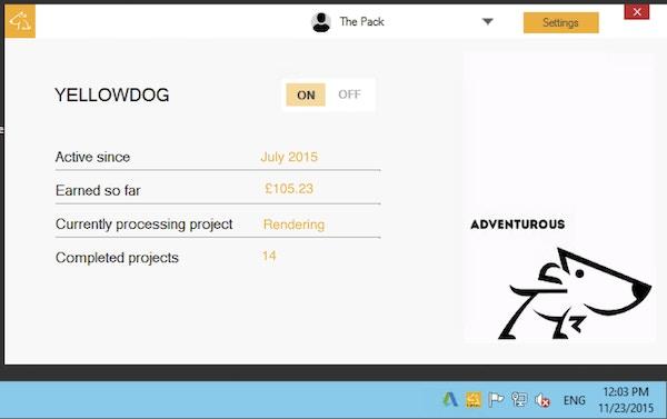 Yellowdog application