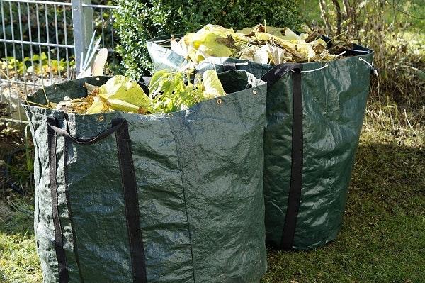 Garden waste green waste 600