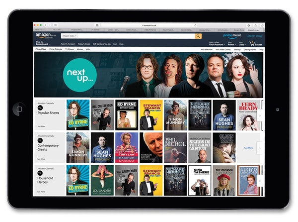 Ipad   amazon channels  1