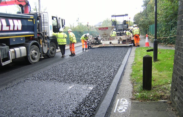 Plastic road enfield