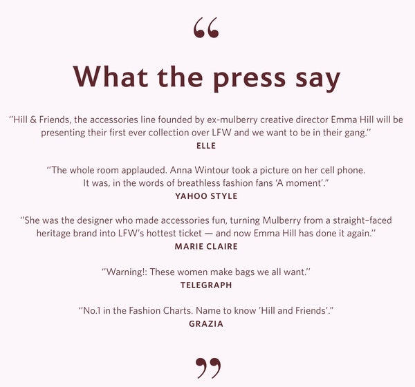 Hill and friends quotes press  2