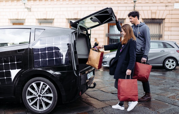 Sonomotors sion exterior trunk open