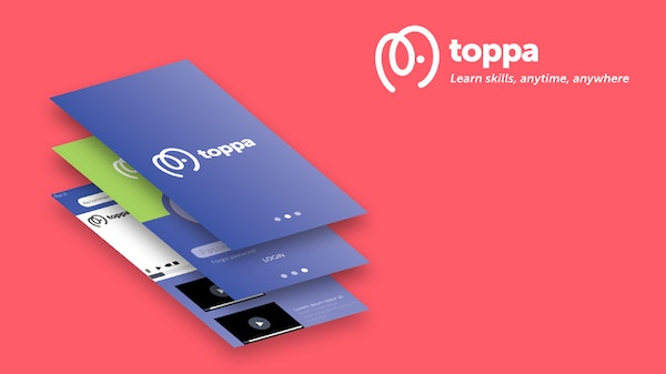 Toppaappbanner