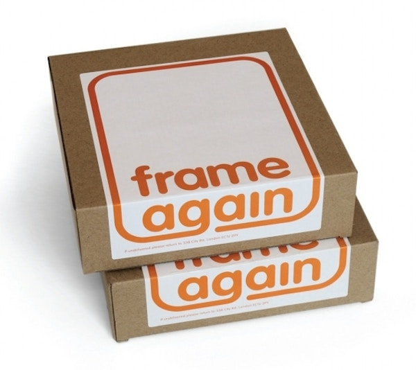 Frame again packaging boxes 30 project image