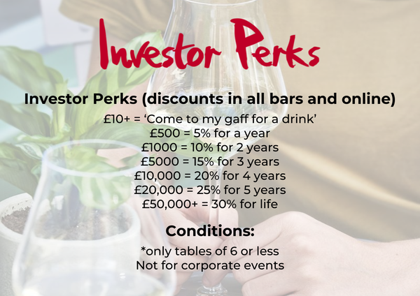 Investor perks