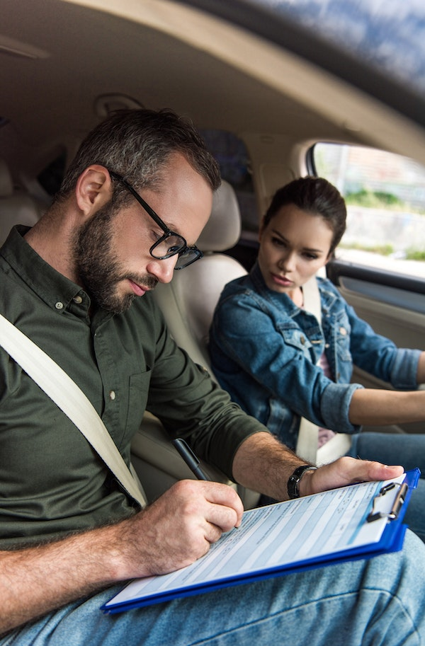 Driving instructor test
