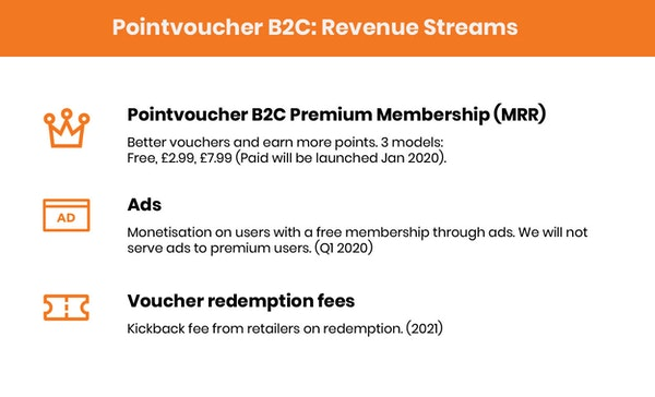 Revenue streams 1