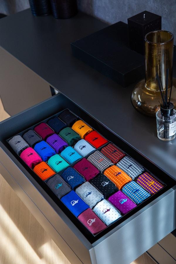 New sock drawer