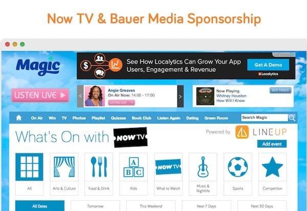 Nowtv sponsorship