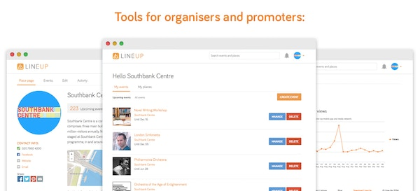 Tools for organisers