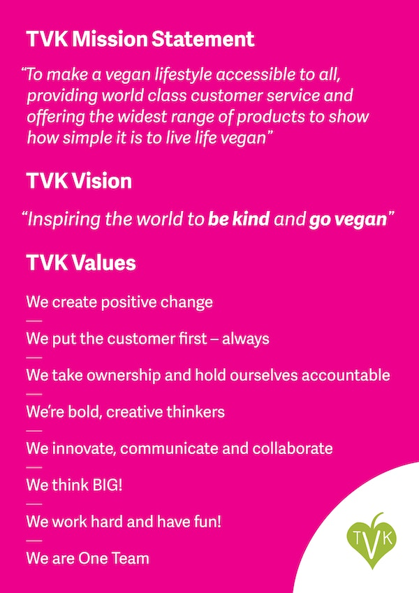 Tvk brand values