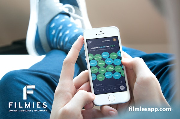 Filmies iphone mockup   tag screen
