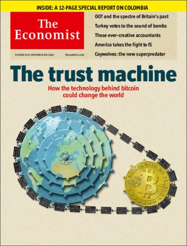 Economist front page