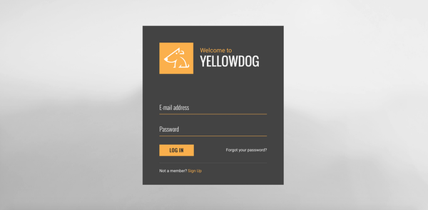 Yellowdog login