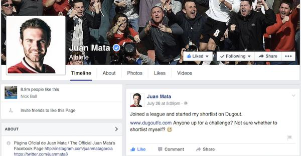 Mata facebook