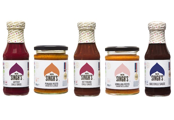 Mr singhs range of products