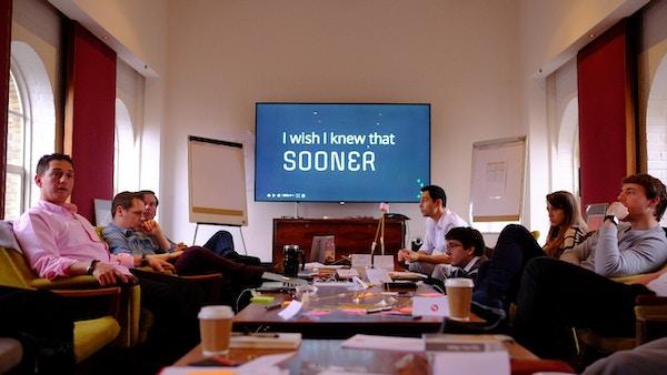 Accelerate startups