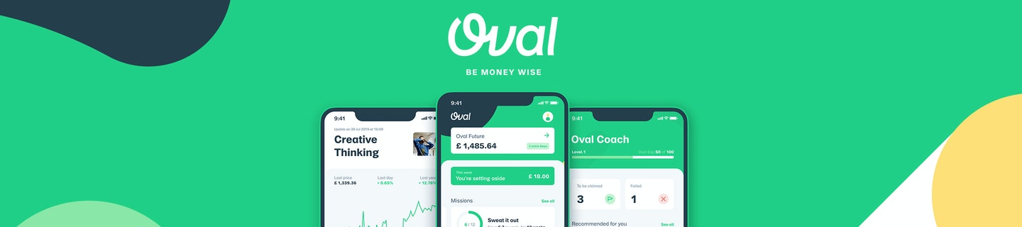 Oval Money hero image