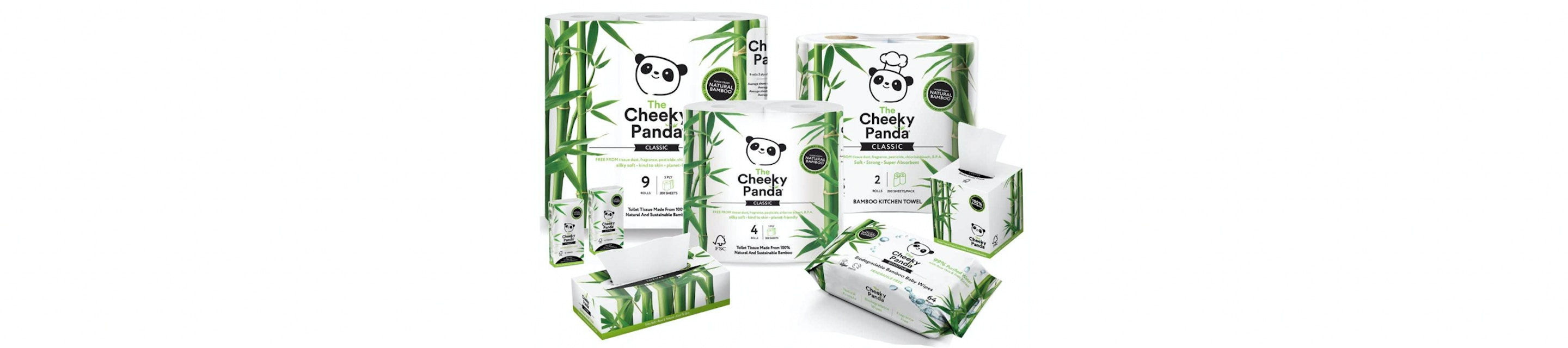 The Cheeky Panda hero image