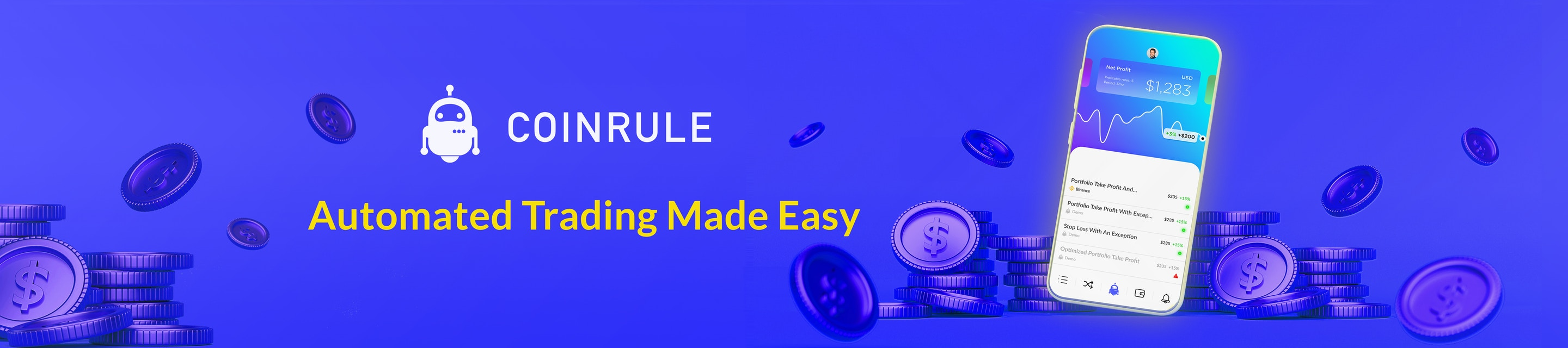 Coinrule hero image