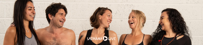 Sadhana Live hero image