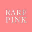 Rare pink logo