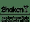 Shaken logo complex black