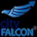 Cityfalcon trademark square 2