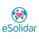 Esolidar vertical white