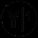 Y1 logo black