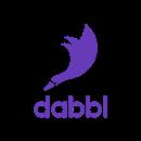 Copy of dabbl logo purple vertical