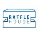 Raffle house logo blue 02
