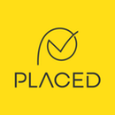 Placed grey logo on yellow background